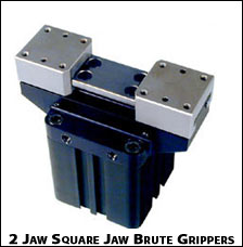 2 Jaw Square Brute Grippers