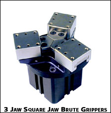 3 Jaw Square Brute Grippers
