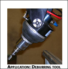 RAD OmniForce Deburring Tool in Action
